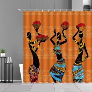 Image of TRIBAL SISTA SHOWER CURTAIN