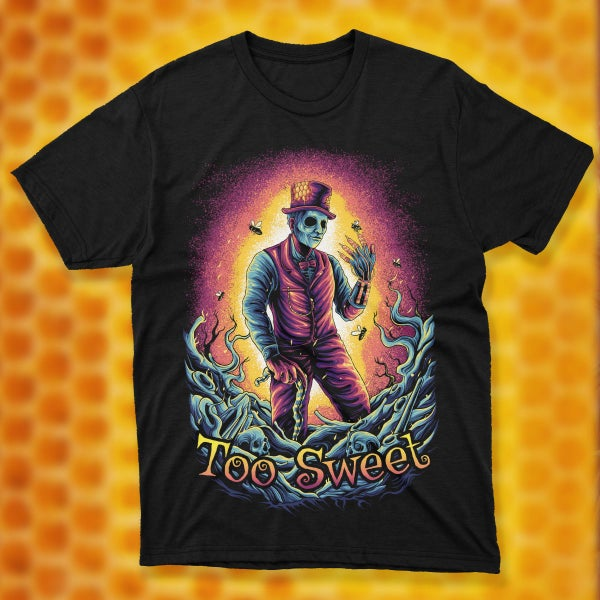 """Image of """"SAVE THE BEES"""" Candyman TEE"""