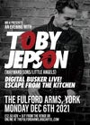 An Evening with Toby Jepson - Monday 6th December 2021