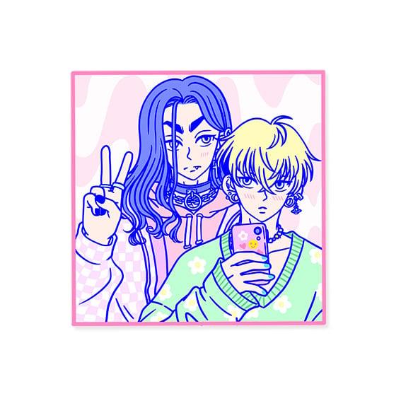 Image of Baji and Chifuyu sticker