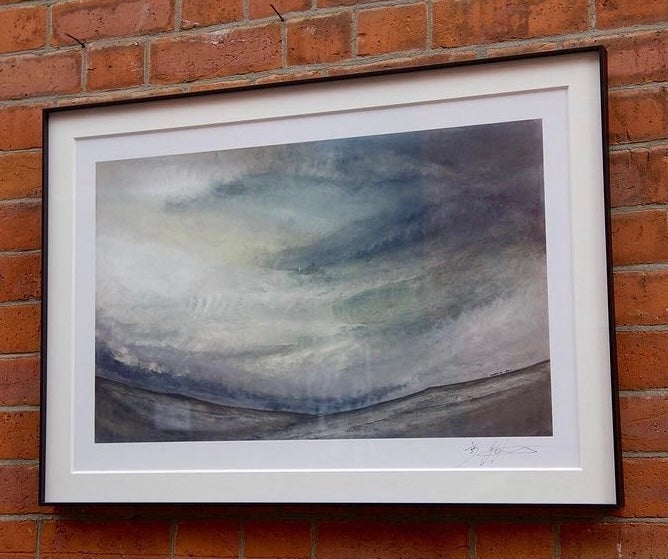 Image of Stanage edge Limited Giclee Print