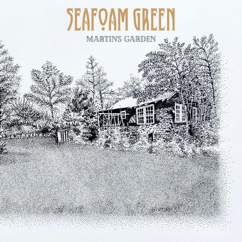 Image of SEAFOAM GREEN - MARTIN'S GARDEN LP