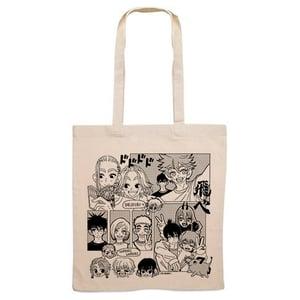Image of Shonen Manga tote bag