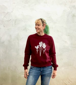 Image of Root Veggies Organic Cotton Sweatshirt