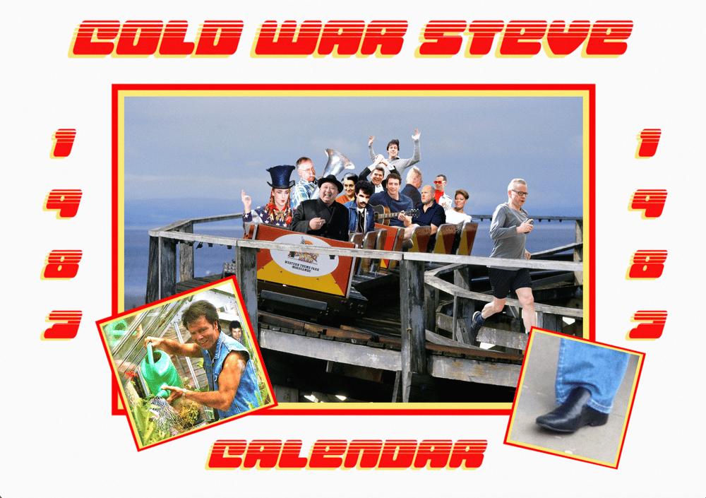 Image of The Official Cold War Steve 1983 Calendar
