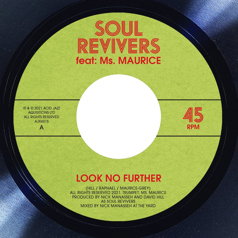 """Image of Soul Revivers Ft. Ms Maurice - Look No Further / Further Dub  7"""" (Pre-Order)"""