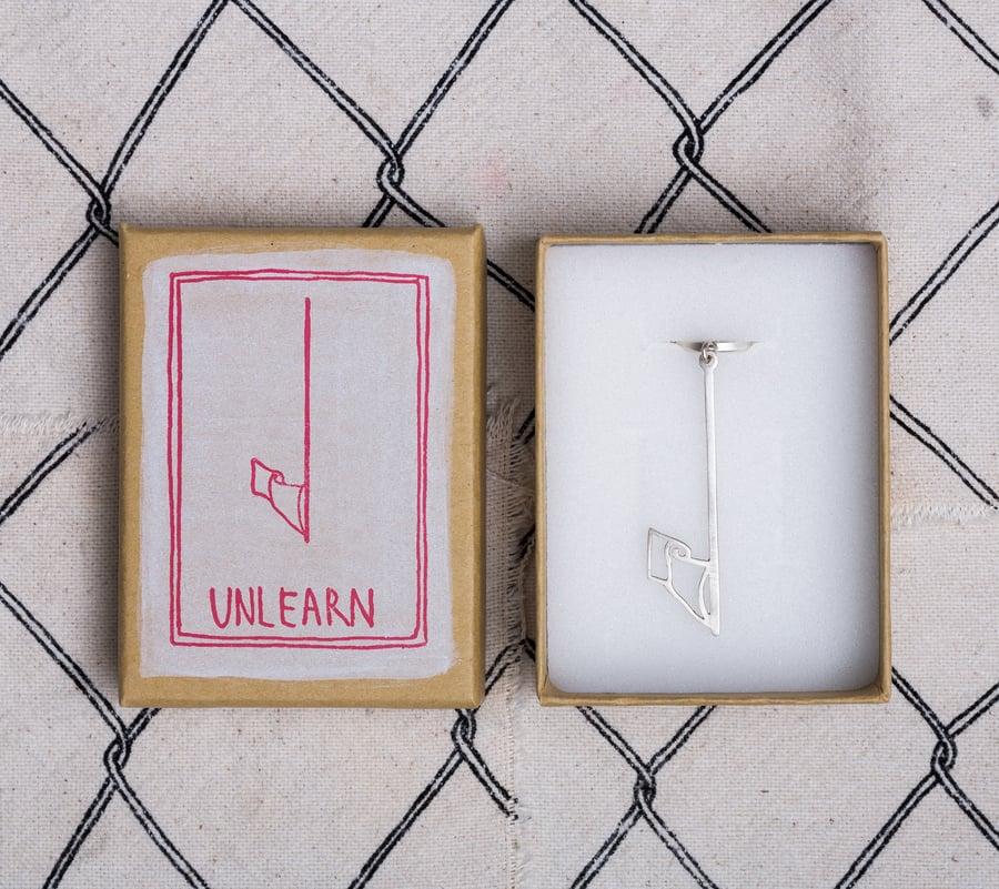 Image of 'UNLEARN' Earring (single)