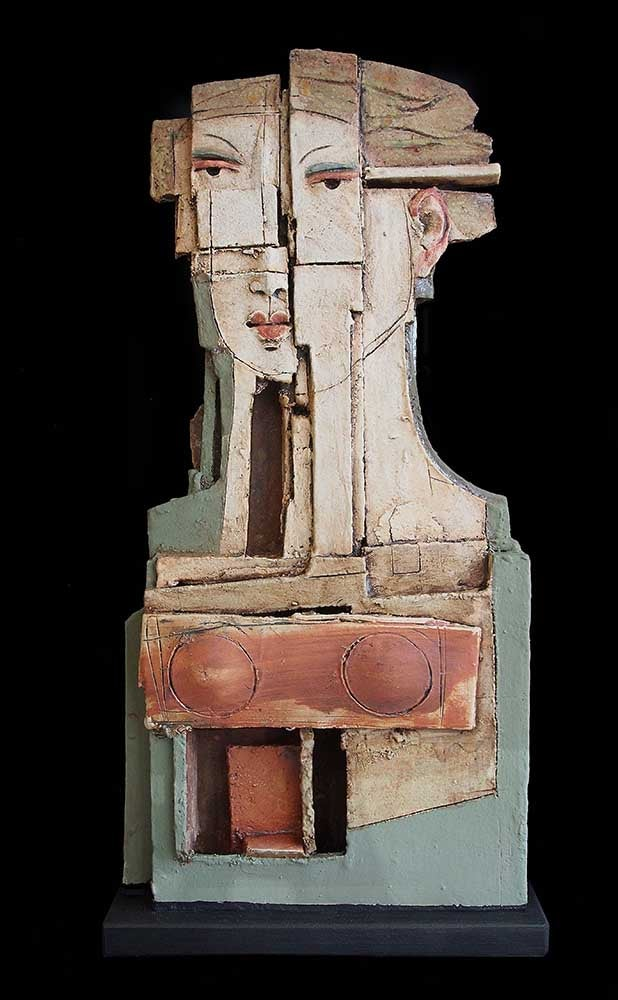 Image of Christy Keeney - 'Picasso' - Unique Ceramic Sculpture