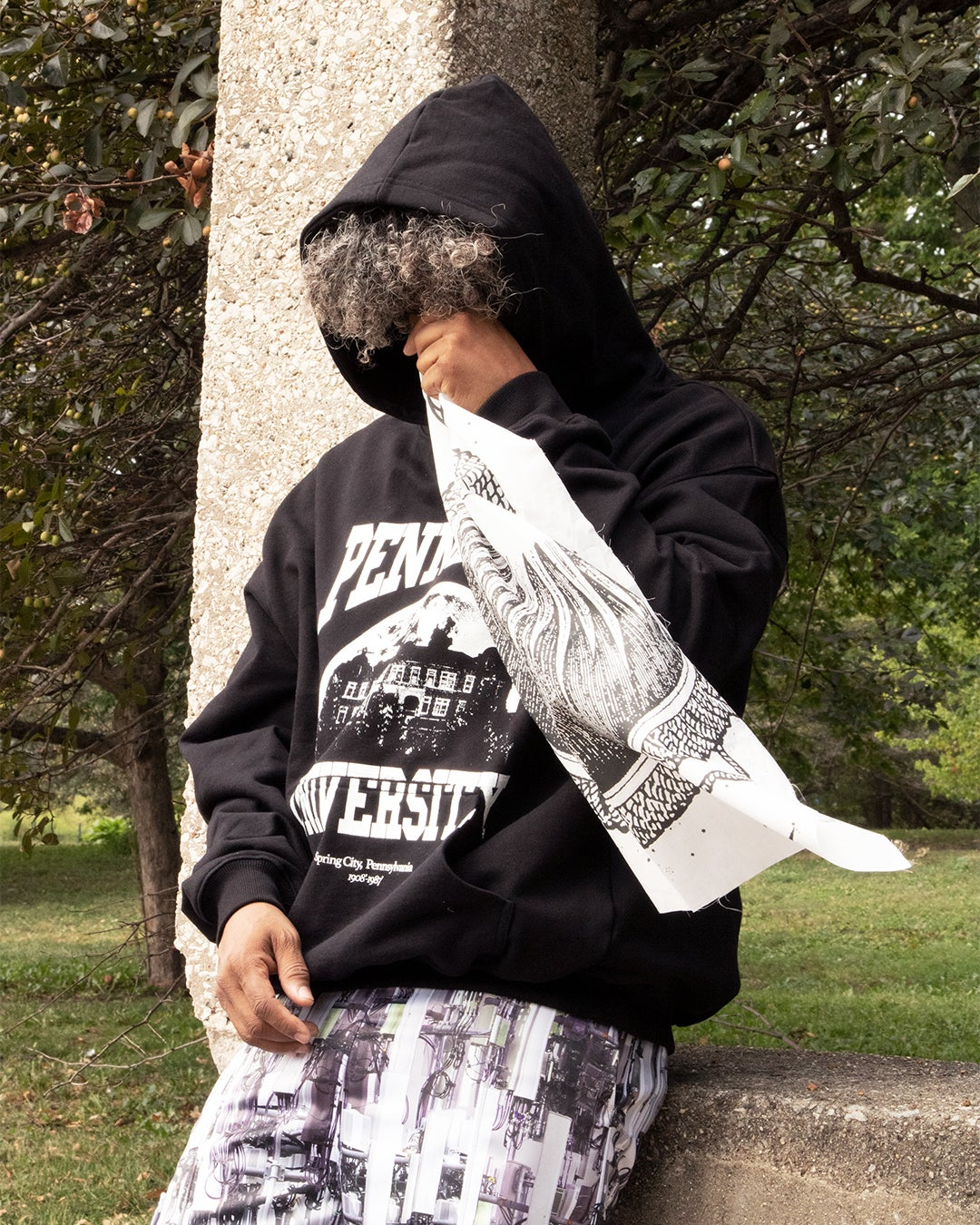 Image of Pennhurst Hooded Sweatshirt