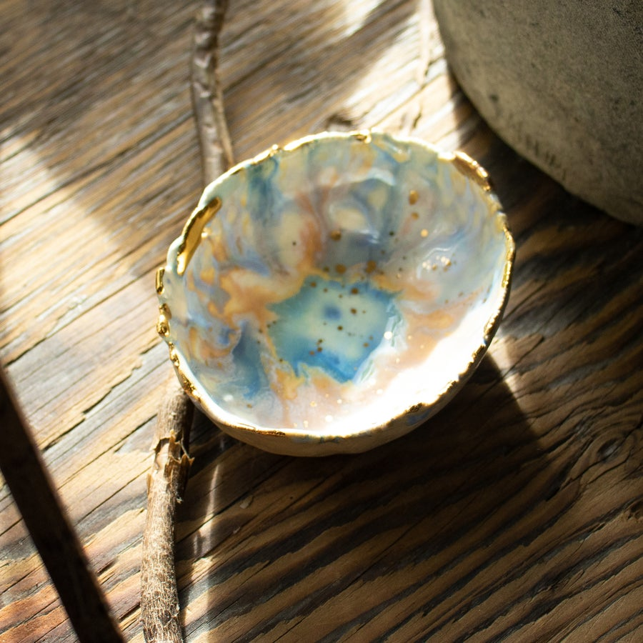 Image of Mini Blue Lagoon Dish by Minh Singer