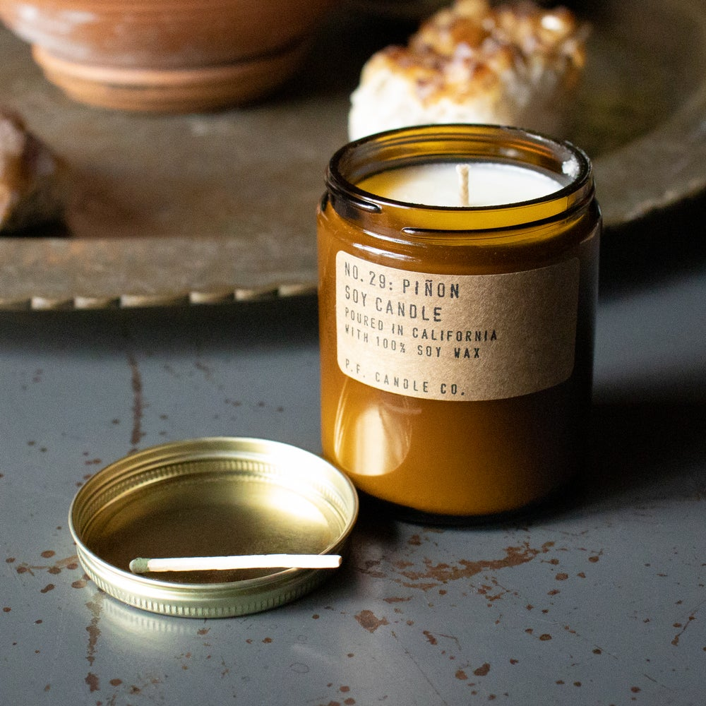 Image of Pinōn 7.2 oz Soy Candle by P.F. Candle Co.