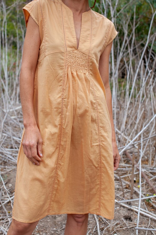 Image of S/S Ruched Dress