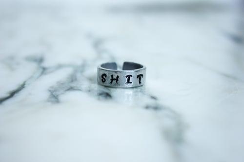 Image of NSFW Stamped Ring