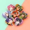 SK8 Heart Buttons
