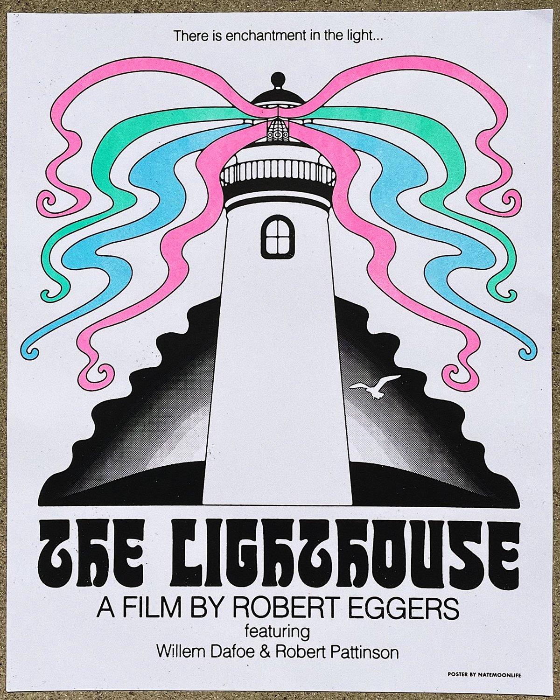 "The Lighthouse • 16""x20"" screenprint"