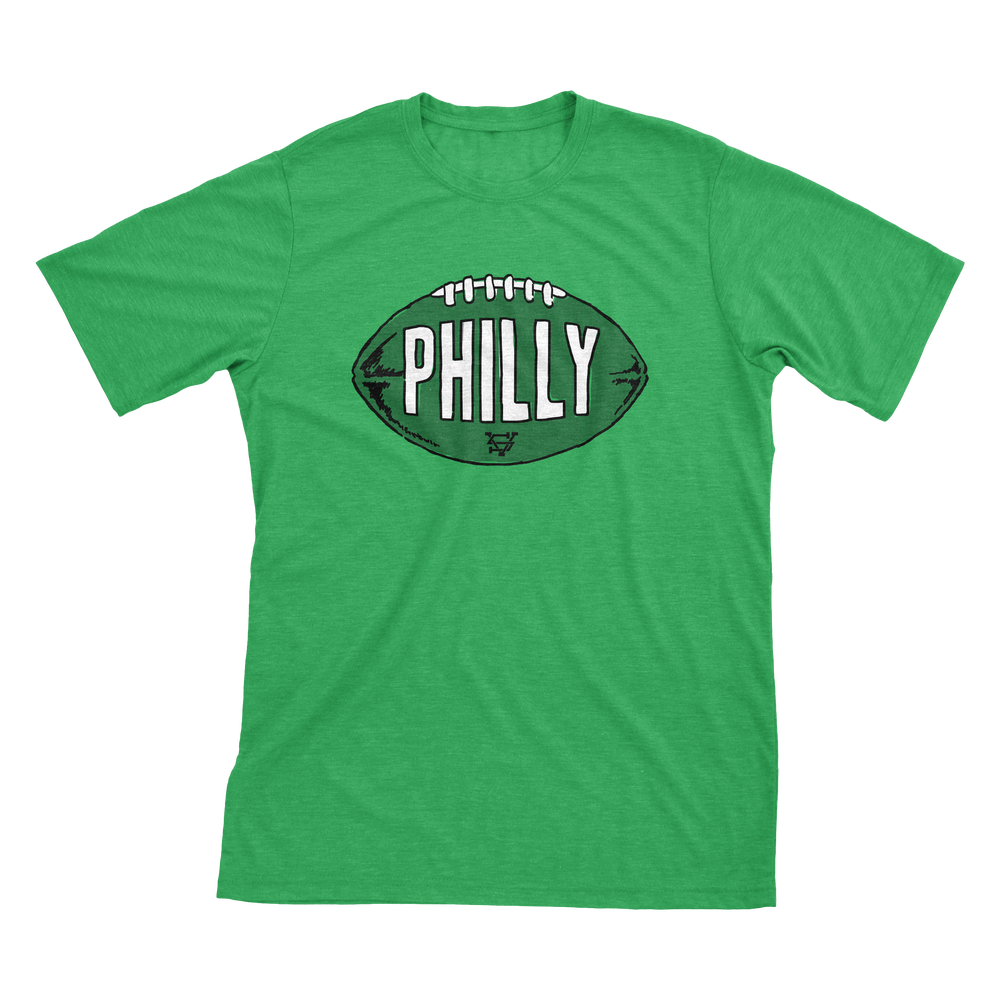 Image of Philly Football Kelly Green T-Shirt