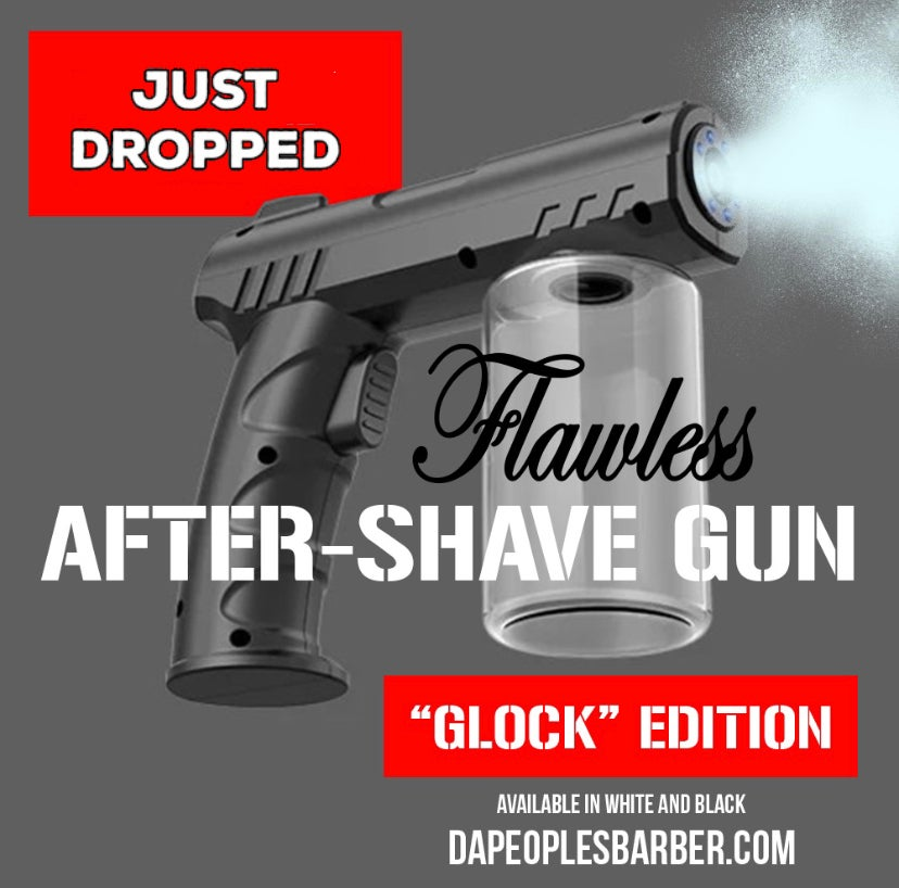 """Image of Flawless After Shave Gun """"GLOCK"""" Edition"""