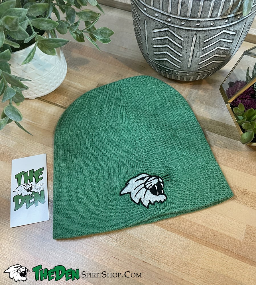 Image of Knit Beanie, Green