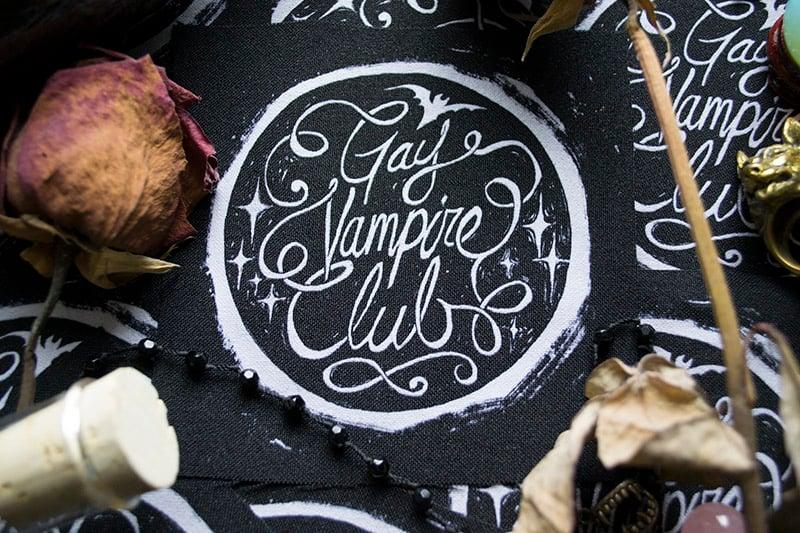 Gay Vampire Club Sew-On Patch