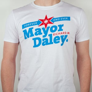 Image of Mayor Daley Forever – Chicago Colors Tee - SOLD OUT