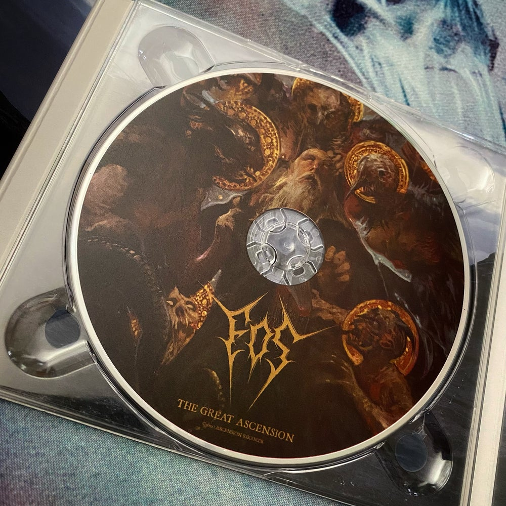 """EOS """"The Great Ascension"""" Digipack CD"""
