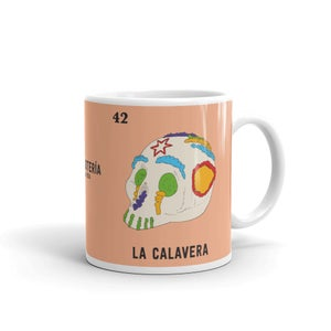 Image of 'La Calavera' Mug