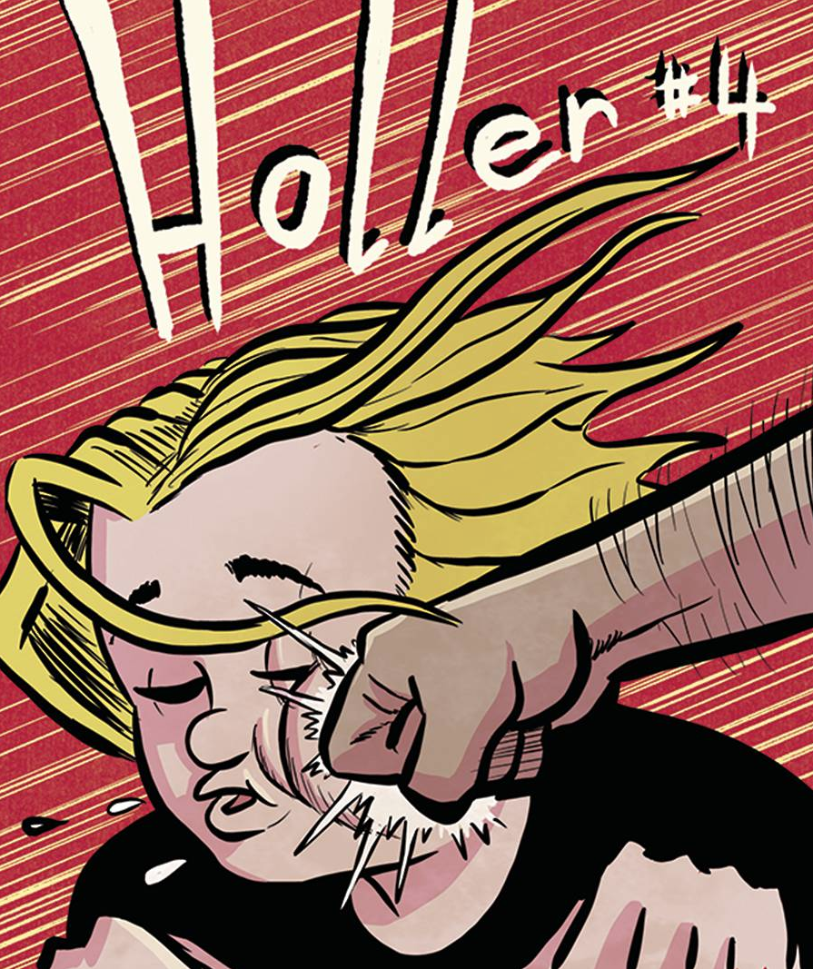Image of HOLLER #4 (Cover A)
