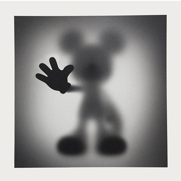 """Image of GONE """"MICKEY""""- LIMITED EDITION TEST PRINT EDITION OF 7 - 60CM X 60CM"""