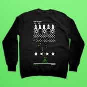 Image of Xmas Invaders Christmas Sweatshirt