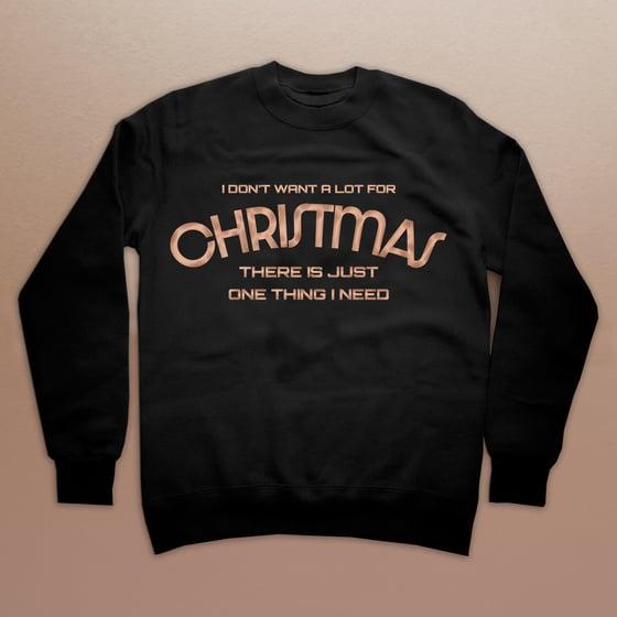 Image of All I Want for Christmas Ladies Sweatshirt