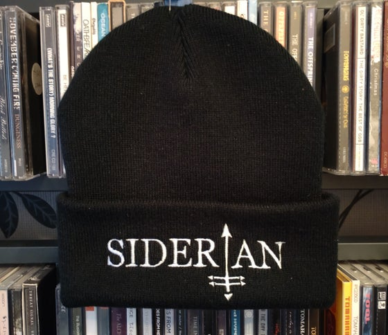 Image of Embroidered logo beanie