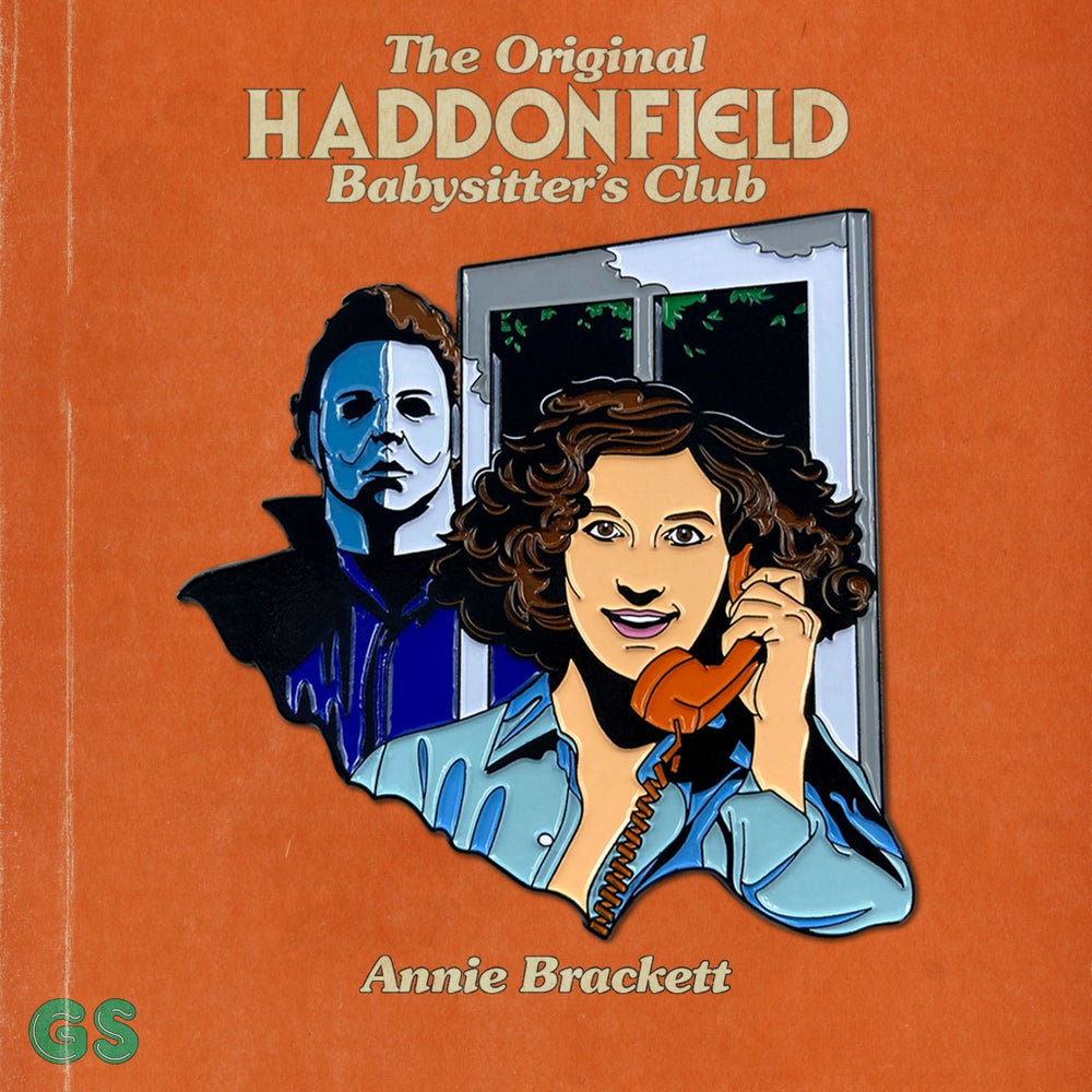 Image of Haddonfield Babysitter's Club: Annie Brackett Enamel Pin