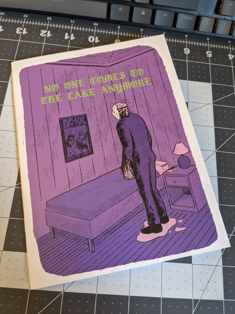 Image of NO ONE COMES TO THE LAKE ANYMORE 2nd printing