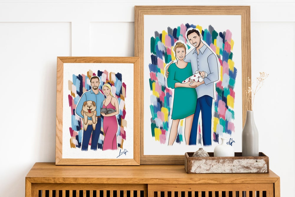 Image of PERSONALISED • Portraits •