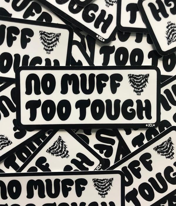 Image of Muff Sticker