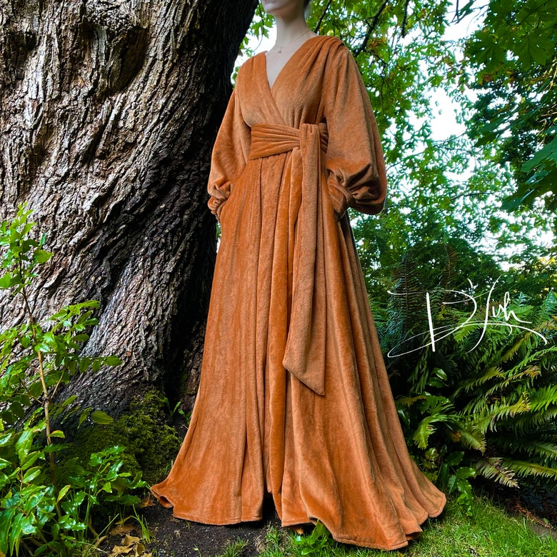 """Image of """"Hot Toddy"""" Felicia Supreme Dressing Gown"""