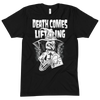 DEATH COMES LIFTING x 7HIRTEEN CLOTHING