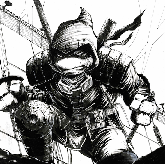 Image of LAST RONIN ALLEY (UNPUBLISHED COVER