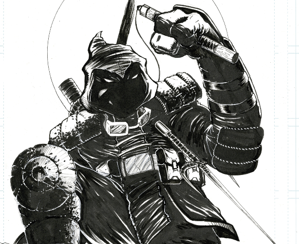Image of LAST RONIN ROOFTOP (UNPUBLISHED COVER)