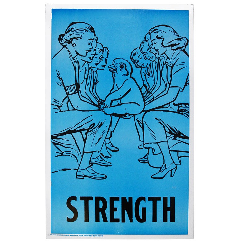 Image of Faile - Strength - Letterpress Print Limited edition