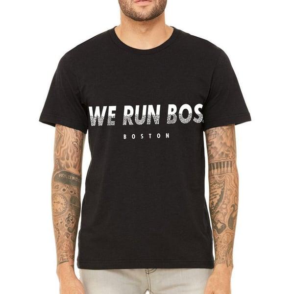 Image of We Run Bos Fragment Logo Tee