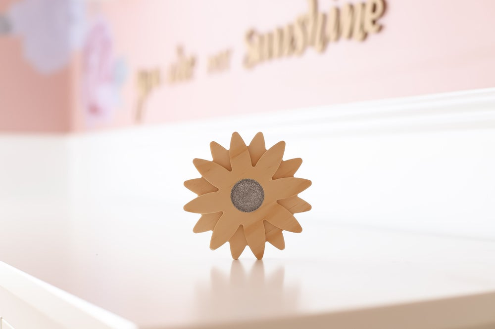 Image of Wooden Flowers