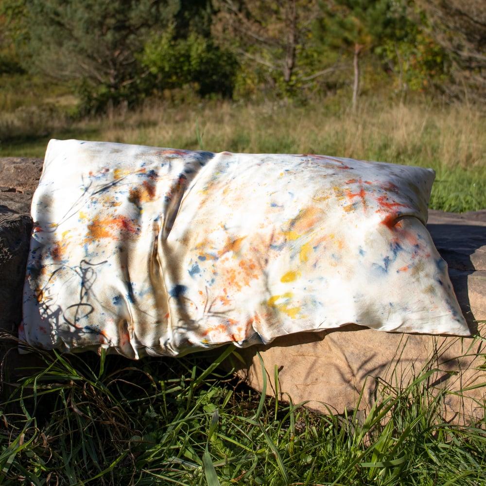 Image of Confetti Silk Pillowcase by Kria