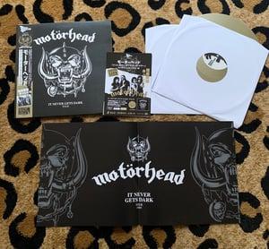 Image of MOTÖRHEAD - It Never Gets Dark Tour 6/26/85 (Fan Club) DLP