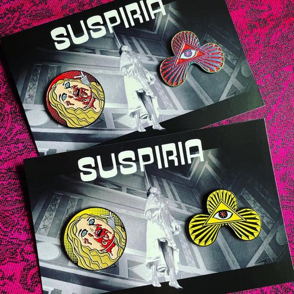 Image of SUSPIRIA Enamel Pin Set