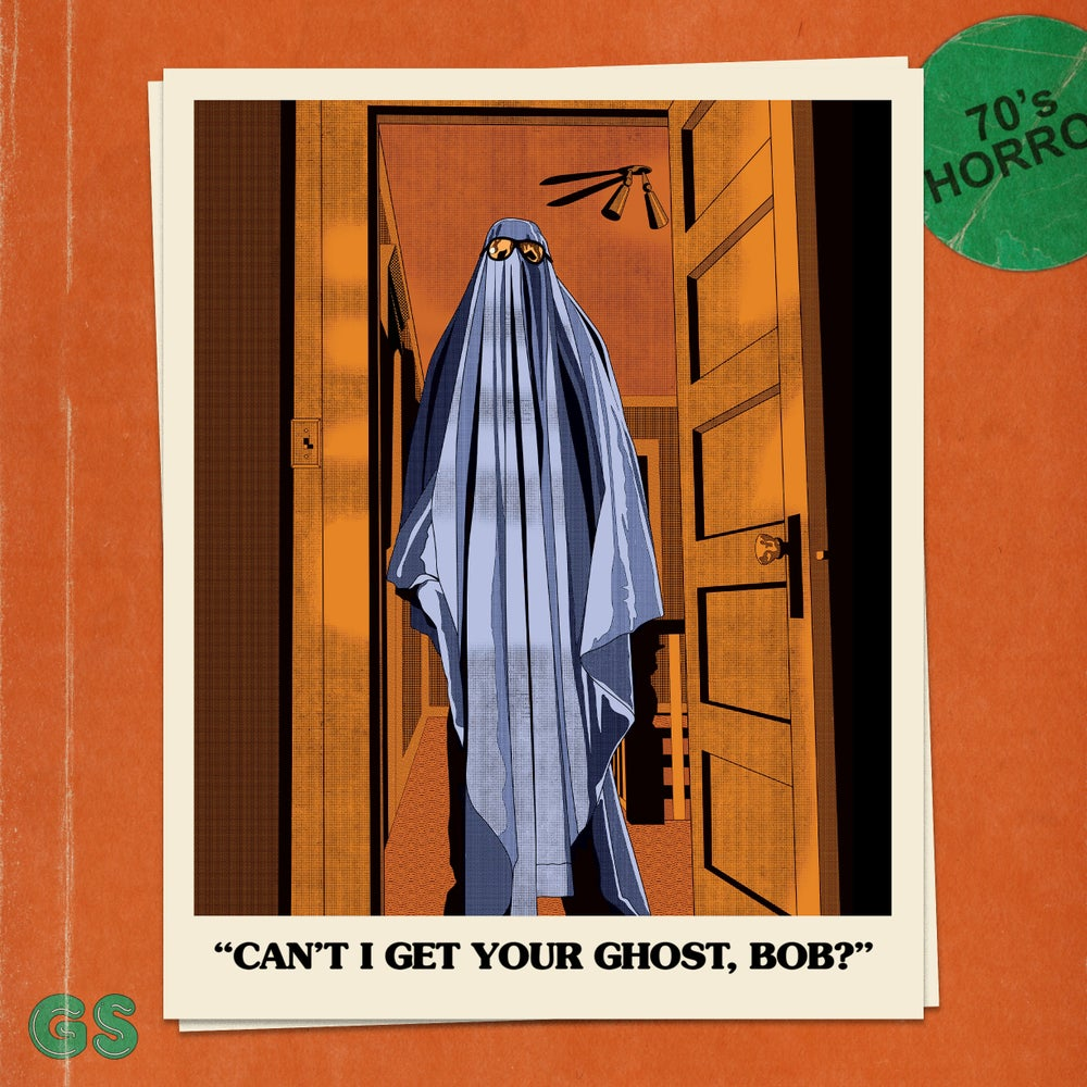 Image of 'Can't I Get Your Ghost, Bob?' Art Print