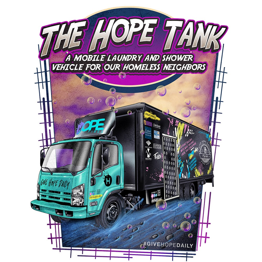 The Hope Tank Graphic T - White
