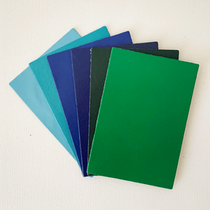 Image of Leather Selection And Kit For Rainbow Venetian Journals