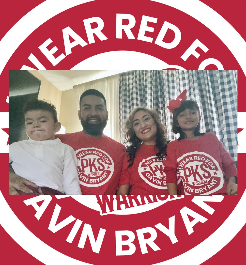 *Limited Edition* I Wear Red for Gavin Bryant