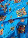 Paros scarf turquoise
